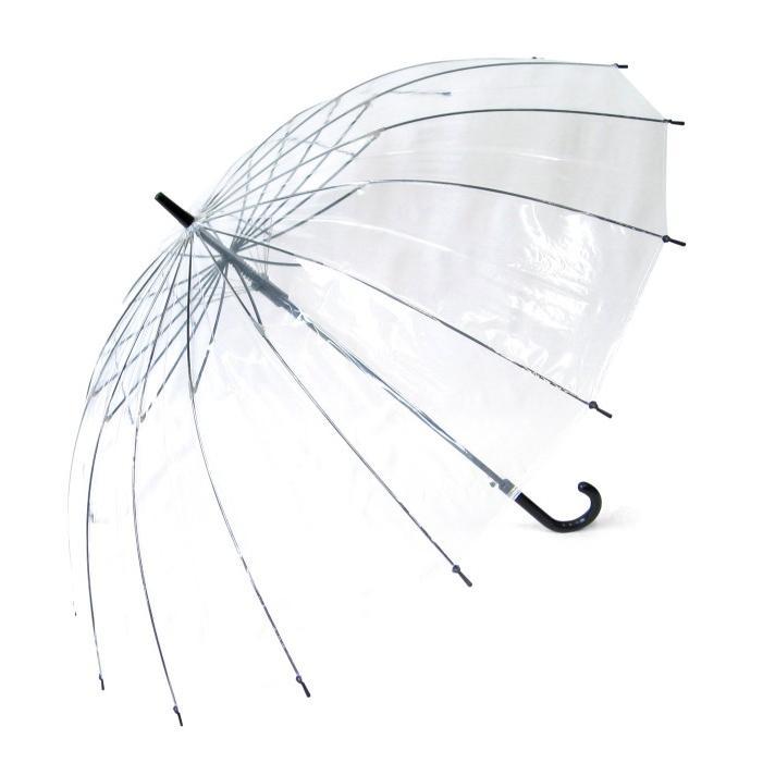 ビニール傘 グラスファイバー16本骨ジャンプ式 65cm 送料無料 6本セット業務用 まとめ買い okamoto-kasa 02