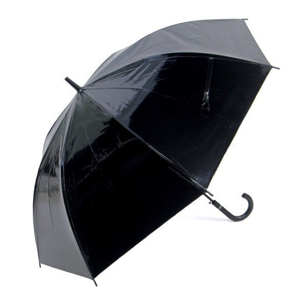傘 メンズ ブラック ビニール傘 18本セット 大きい傘 65cm 反り返っても折れにくく風に強いグラスファイバー耐風骨使用 ジャンプ傘 送料無料|okamoto-kasa|02