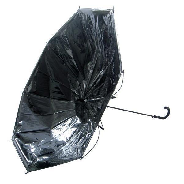 傘 メンズ ブラック ビニール傘 18本セット 大きい傘 65cm 反り返っても折れにくく風に強いグラスファイバー耐風骨使用 ジャンプ傘 送料無料|okamoto-kasa|03