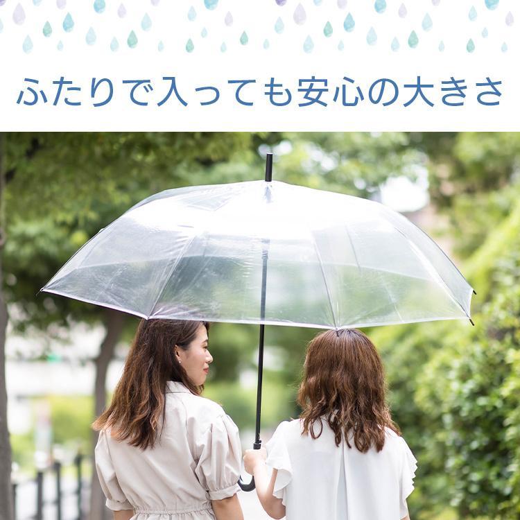 ビニール傘 丈夫 大きい傘 超特大 75cm 反り返っても折れにくく風に強いグラスファイバー耐風骨使用 荷物も濡れにくい ジャンプ傘 36本セット 送料無料|okamoto-kasa|03