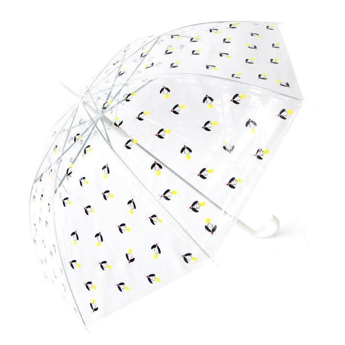 ビニール傘 かわいい ホタル総柄 60cm ジャンプ傘 送料無料|okamoto-kasa|02