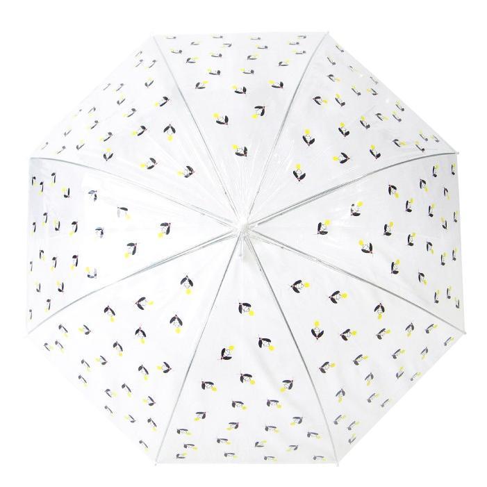 ビニール傘 かわいい ホタル総柄 60cm ジャンプ傘 送料無料|okamoto-kasa|03