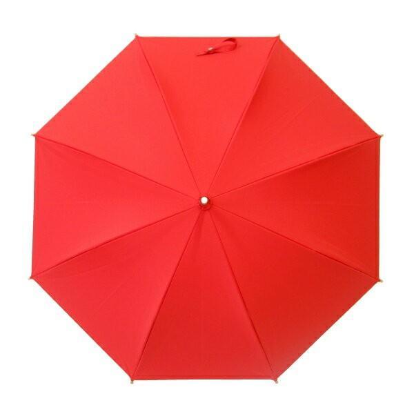 日傘 レディース 晴雨兼用傘 国産生地 真赤な無地柄 遮光率 UVカット 99%以上 50cm 竹手元 手開き傘  送料無料|okamoto-kasa|04