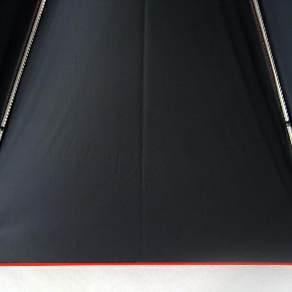日傘 レディース 晴雨兼用傘 国産生地 真赤な無地柄 遮光率 UVカット 99%以上 50cm 竹手元 手開き傘  送料無料|okamoto-kasa|10