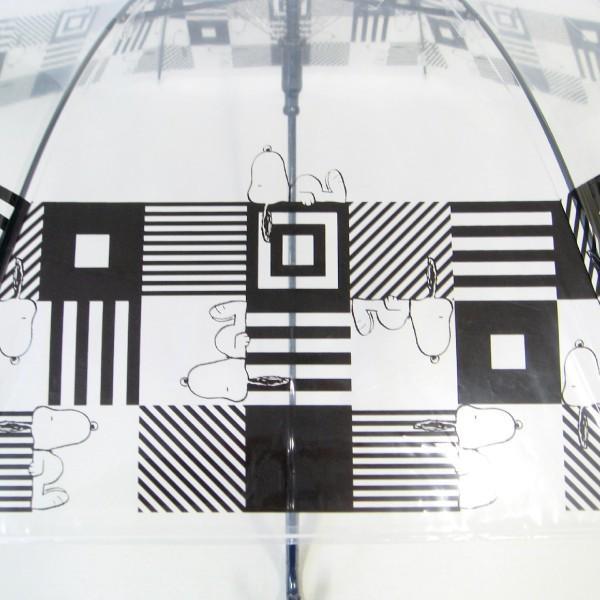 傘 レディース スヌーピー ビニール傘 キューブ柄 59cmジャンプ傘 送料無料|okamoto-kasa|09