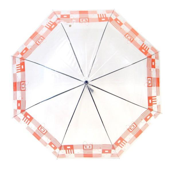 傘 レディース スヌーピー ビニール傘 キューブ柄 59cmジャンプ傘 送料無料|okamoto-kasa|02