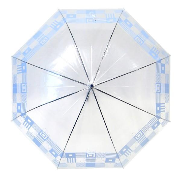 傘 レディース スヌーピー ビニール傘 キューブ柄 59cmジャンプ傘 送料無料|okamoto-kasa|05