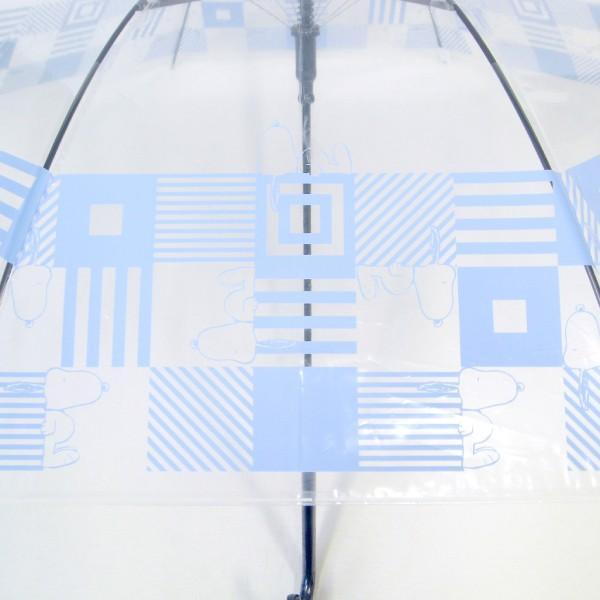 傘 レディース スヌーピー ビニール傘 キューブ柄 59cmジャンプ傘 送料無料|okamoto-kasa|06