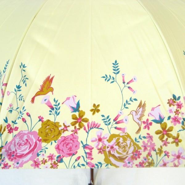 日傘 レディース 晴雨兼用傘 遮光率99% ハミングバード  グラスファイバー骨58cmジャンプ 送料無料|okamoto-kasa|02