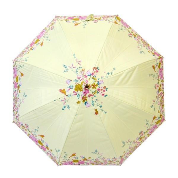 日傘 レディース 晴雨兼用傘 遮光率99% ハミングバード  グラスファイバー骨58cmジャンプ 送料無料|okamoto-kasa|03