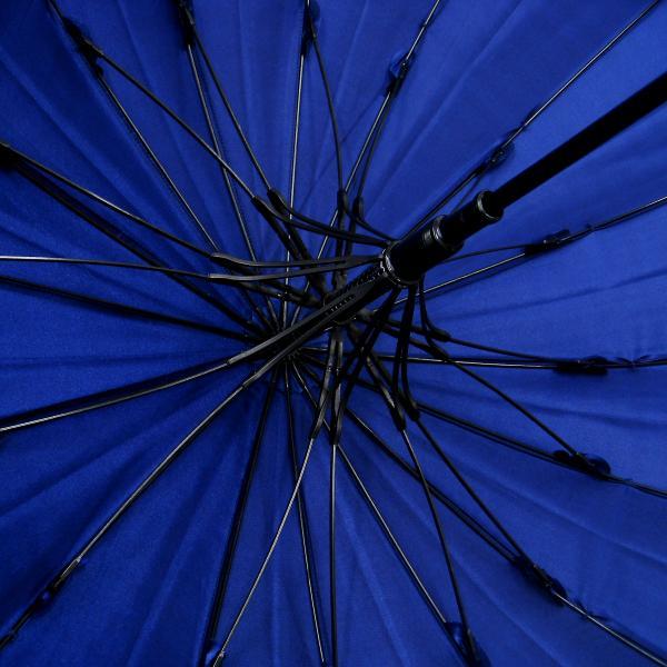 傘 レディース 高級感のあるサテン地 裾花柄 16本骨 60cm ジャンプ傘 無料包装 母の日 誕生日カード付 送料無料 okamoto-kasa 12