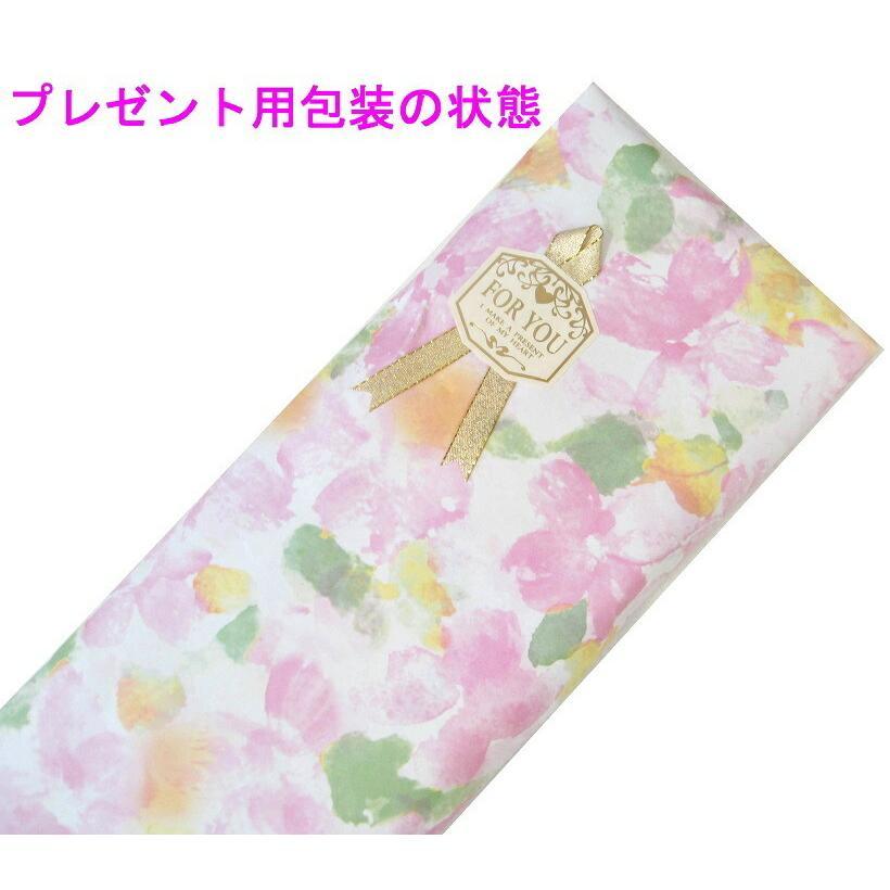 アルファベットで名入可能 傘 レディース 高級感のあるサテン生地に花柄プリント 16本骨 60cm ジャンプ傘 無料包装 母の日 誕生日カード付 送料無料 okamoto-kasa 17