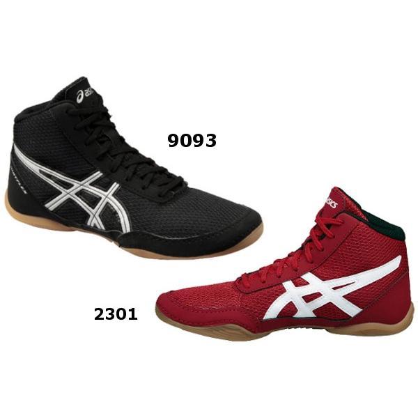 アシックス ジュニアレスリングシューズ MATFLEX  5GS  Black/White・Red/White|okamoto-sports