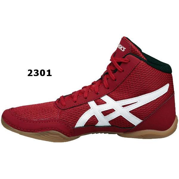 アシックス ジュニアレスリングシューズ MATFLEX  5GS  Black/White・Red/White|okamoto-sports|04