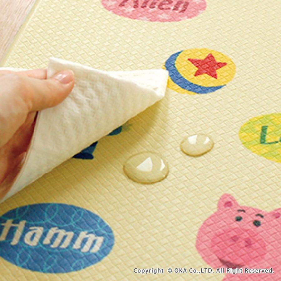 キッチンマット ディズニー 45×120cm 拭いてお手入れ(拭ける ふける ミッキーマウス プーさん トイストーリー ミニーマウス) オカ|okapro|10