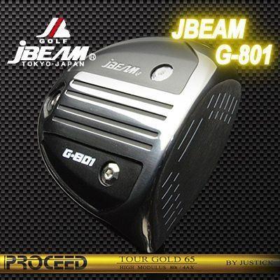 (カスタムモデル) JBEAM G-801 DRIVER PROCEED TOUR ゴールド | ジェイビーム G-801 ドライバー プロシード ツアーゴールド