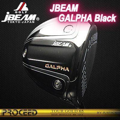 憧れの (カスタムモデル) DRIVER JBEAM GALPHA BLACK DRIVER PROCEED ブラック TOUR BLACK GOLD   ジェイビーム ジーアルファ ブラック ドライバー プロシード ツアーゴールド, キョウゴクチョウ:4eba6dea --- airmodconsu.dominiotemporario.com