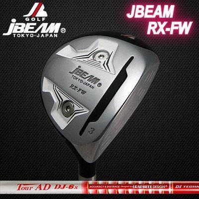 (カスタムモデル) JBEAM RX-FW FAIRWAYWOOD White TOUR AD DJ | ジェイビーム RX-FW フェアウェイウッド ホワイト ツアーAD DJ