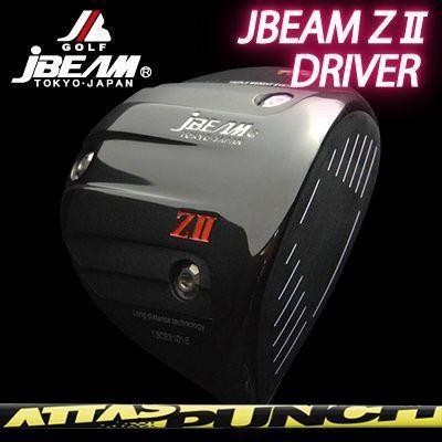 【限定特価】 (カスタムクラブ)ジェイビーム Z2 ドライバー アッタス ドライバー アッタス パンチ パンチ, シオヤグン:6b3faebf --- airmodconsu.dominiotemporario.com