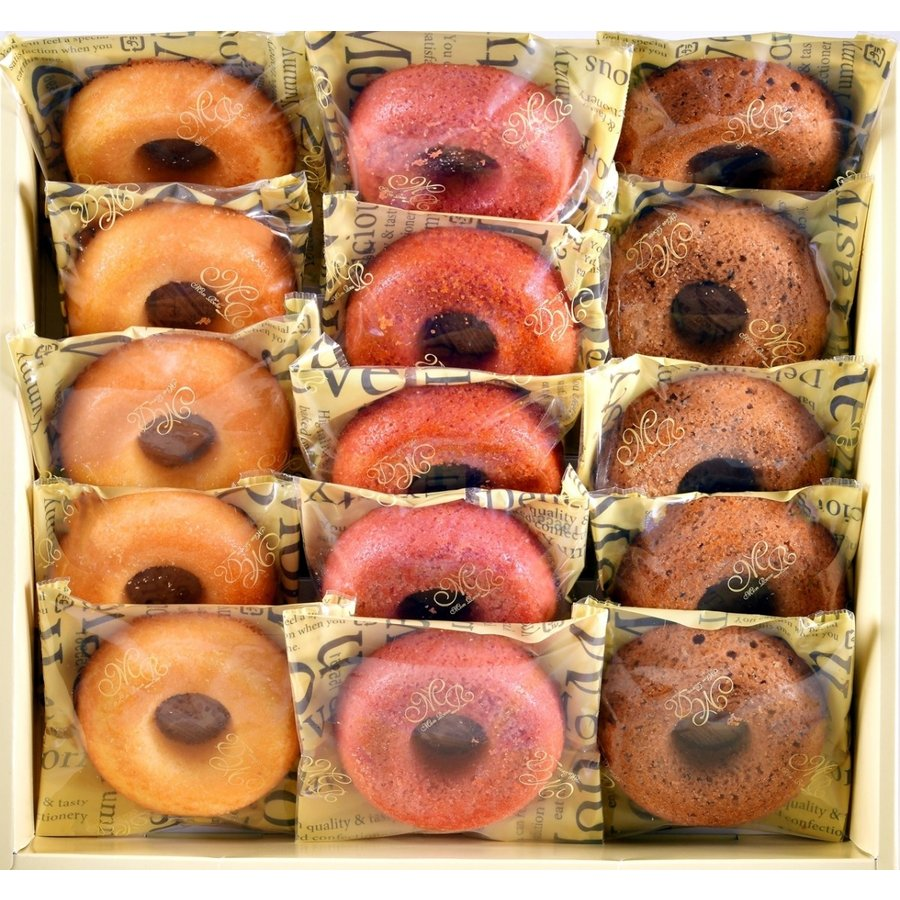 焼きドーナッツ 15個入|okashi-kikuya