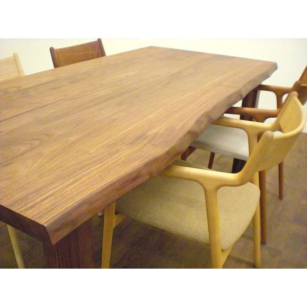 簡易オーダーテーブル/サイズ:1500×950/樹種:ウォルナット【製造直売】