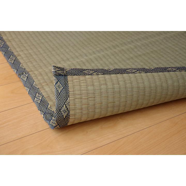 純国産 い草 上敷き カーペット 糸引織 『湯沢』 団地間2畳(約170×170cm) okitatami 04