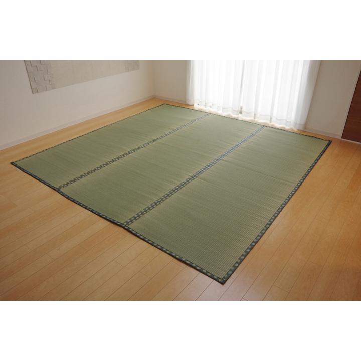 松 団地間2畳 約170×170cm 国産 い草 カーペット 双目織   畳上敷き okitatami 02