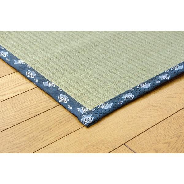 い草 上敷き カーペット 国産 糸引織 岩木 三六間 8畳 約364×364cm okitatami
