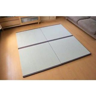 天然い草 へりつき置き畳 リビング畳 梅 1枚 okitatami