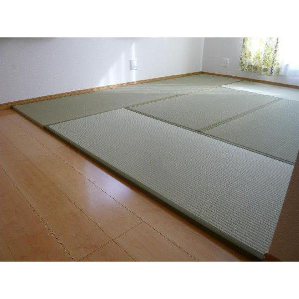 オーダーサイズ 職人畳バージョン1  置き畳 へりつき 8枚 4000×4000mmまで 厚み25mm|okitatami|04