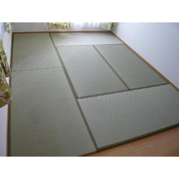 オーダーサイズ 職人畳バージョン4  置き畳 へりつき 6枚 3000×4000mmまで 厚み55mm okitatami 04