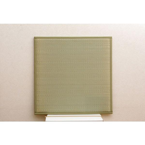 畳 国産 ユニット畳 薄畳 ふっくら微笑み 82×82×2.2cm 9枚1セット 中材:ウレタンチップ+硬綿|okitatami|03