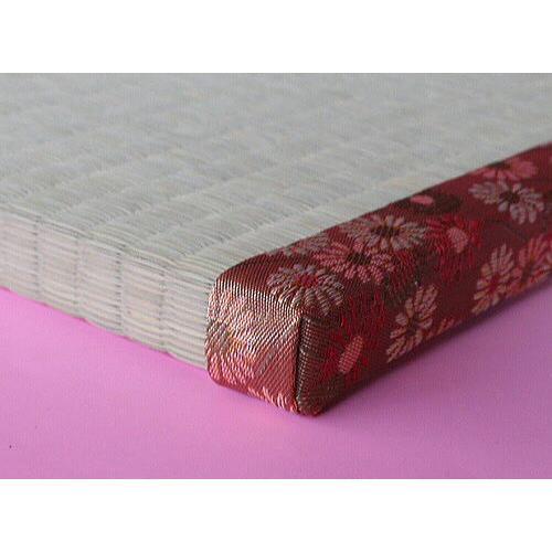畳 ベッド用 い草 セミダブル ダブル 畳のみ  長さ200cm×幅200cmまで 2枚しあげ 厚み2.5cm 天然い草 オーダーサイズ(ベッド別売)|okitatami|03