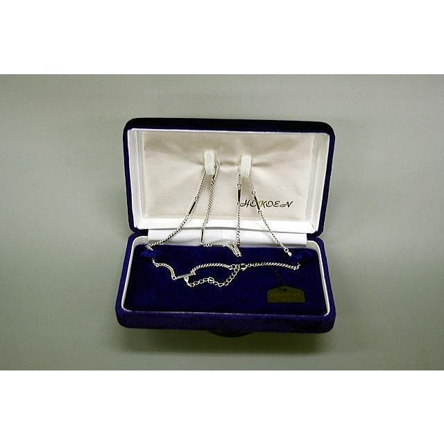 肩こりネックレス 磁気治療器ジュネス プラチナ加工磁気ネックレス|okitatami