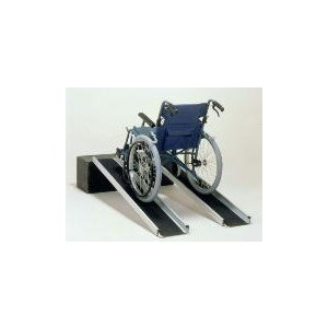 スロープ 段差 車椅子 ワイド・アルミスロープEW200 2mタイプ 25cm幅|okitatami