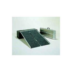 アルミ2つ折り式 76cm幅 90cmタイプ イーストアイ・アルミスロープ PVS090 |okitatami