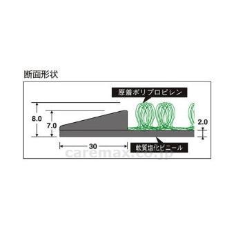 送料無料 除菌マット テラシック MR120-542-1 タラモト 靴底を除菌してウイルスを持ち込まない メーカー直送 |okitatami|02