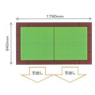 畳収納ユニット 小上がり 高床式ユニット畳 畳が丘 1畳アイランド  パナソニック 3 引出しボックス  パナソニック|okitatami