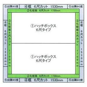 畳収納ユニット 小上がり 高床式ユニット畳 畳が丘 2畳アイランド  パナソニック 2 ハッチボックス  パナソニック|okitatami|02