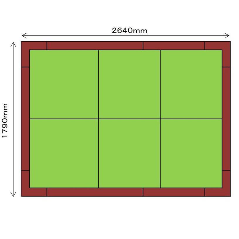 畳収納ユニット 小上がり 高床式ユニット畳 畳が丘 3畳アイランド  パナソニック 1 ハッチボックス  パナソニック okitatami