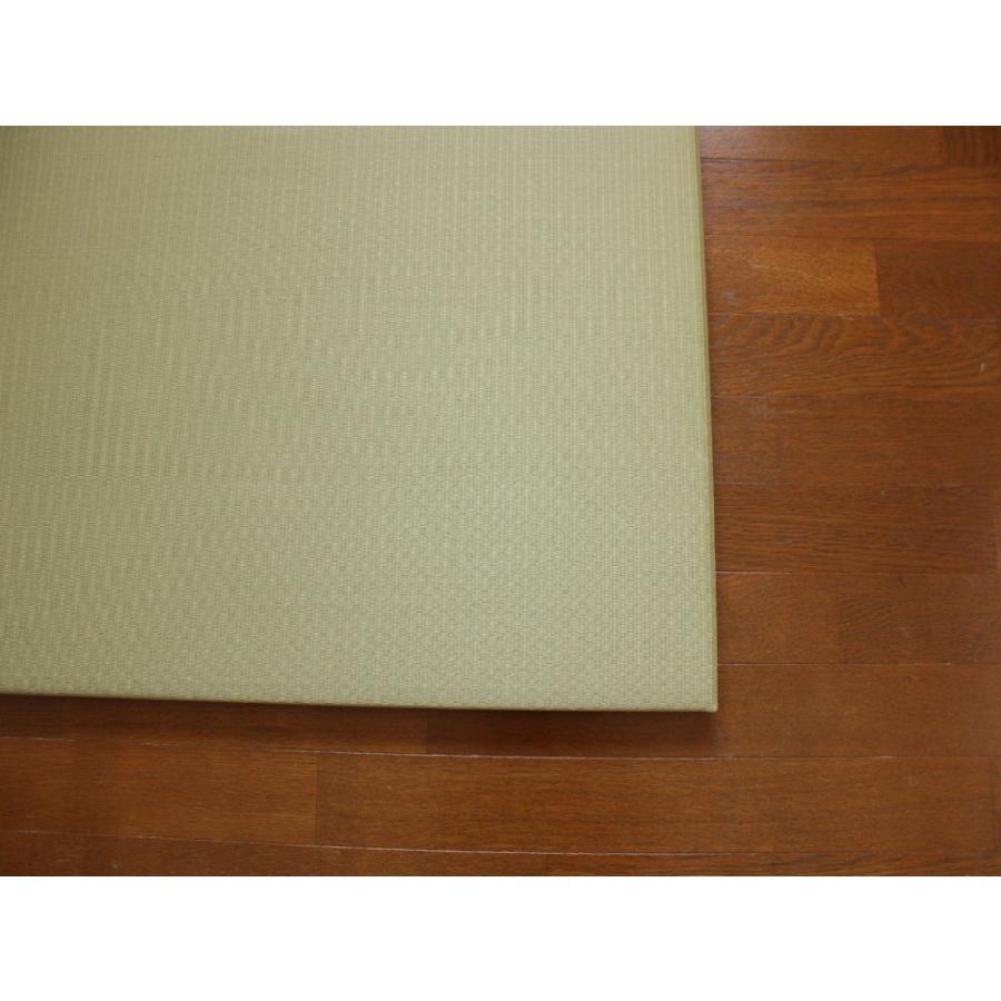 畳 断熱 防音 B級 へりなし置き畳 和紙座80+ 銀白色目積 自社生産職人手作り ユニット畳|okitatami|02