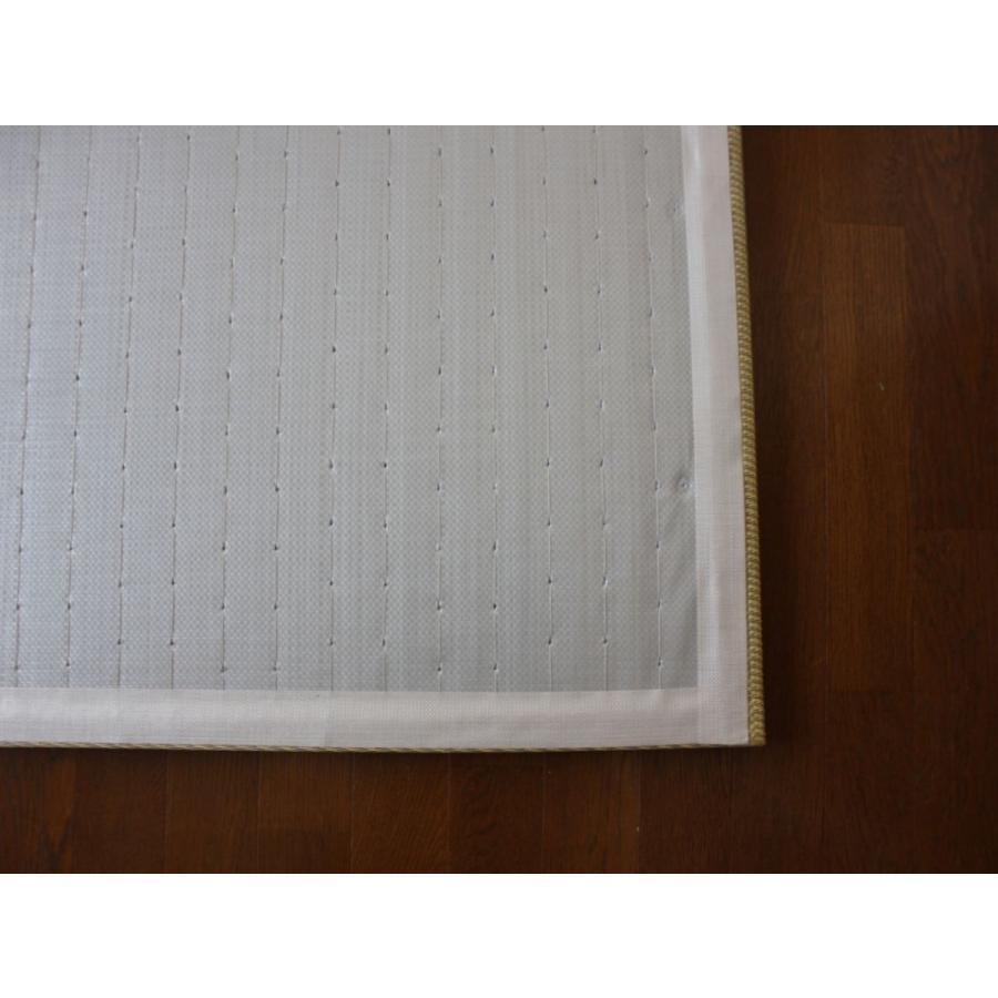 畳 断熱 防音 B級 へりなし置き畳 和紙座80+ 銀白色目積 自社生産職人手作り ユニット畳|okitatami|04