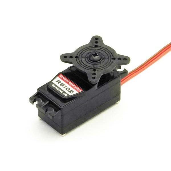 引込脚サーボR6102 OK模型 47882 アナログ PILOT ラジコン