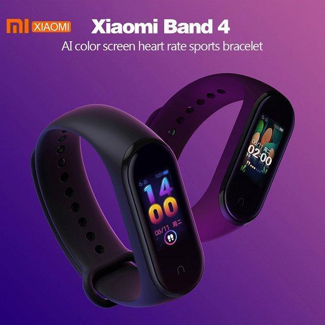 シャオ mi mi バンド 4 スマート ブレスレット 3 Bluetooth 5.0 リストバンドフィットネス Traker AMOLED|okuda-store