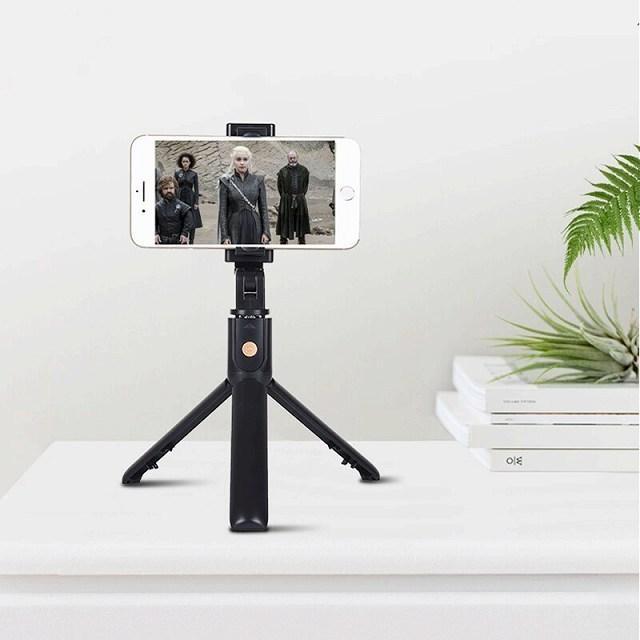 ワンピースK10 bluetooth selfieスティック付属三脚ユニバーサルhandphoneライブミニ写真撮影便利な製品マルチ機能|okuda-store|04