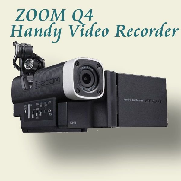 ZOOM Q4 HANDY VIDEO RECORDER ハンディビデオレコーダー|okumuragakki