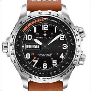 342ad42fdd 書く(送料無料にする) 書かない(送料別途650円·) ※離島·一部地域は送料無料対象外. HAMILTON ハミルトン 腕時計 H77755533 メンズ  KHAKI AVIATION X-WIND カーキ ...