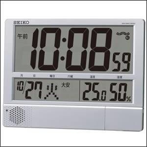SEIKO セイコー クロック SQ434S 電波 掛置兼用時計 PYXIS ピクシス