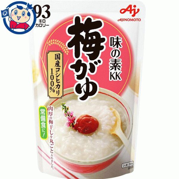 おかゆ 味の素 梅がゆ 250g×9個 1ケース 3ケースまで送料1配送分|okusuya