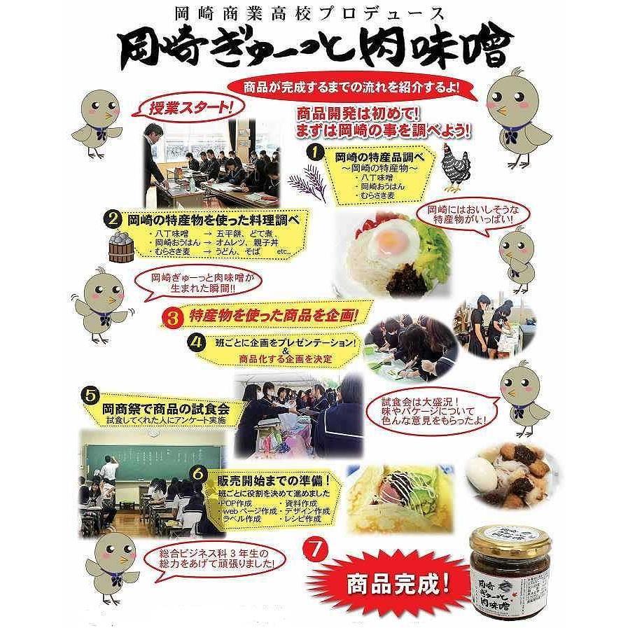 岡崎ぎゅーっと肉味噌 130g 愛知三河の産品 oky-yokocho 03